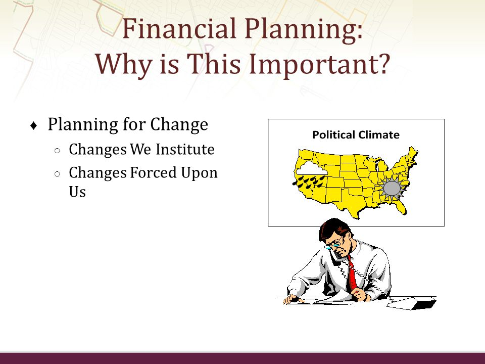Financial Planning: Why is This Important