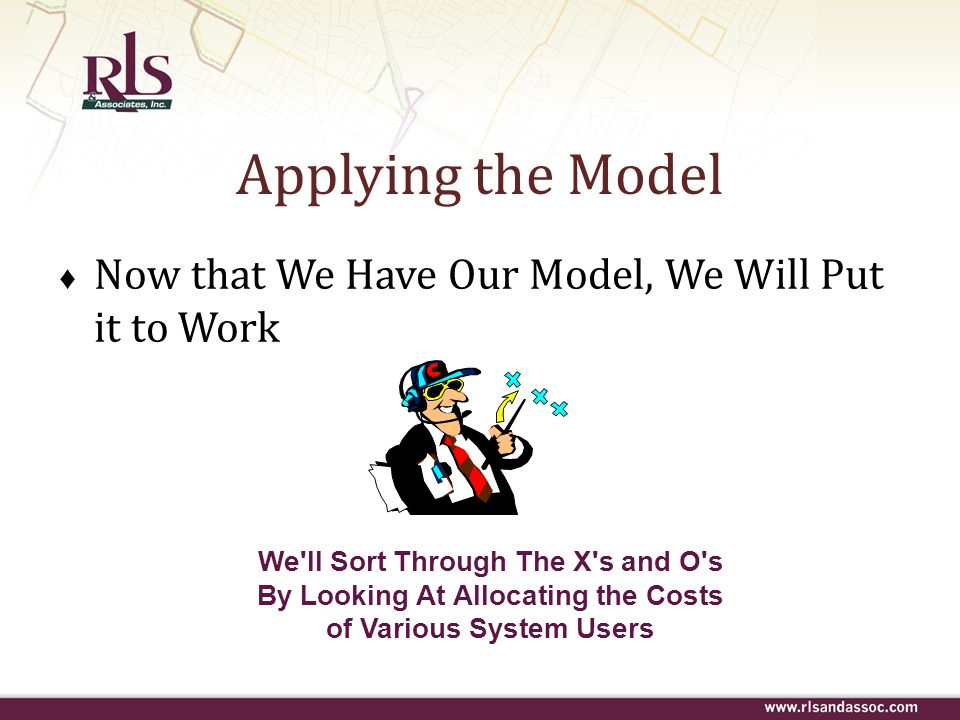 Applying the Model Now that We Have Our Model, We Will Put it to Work