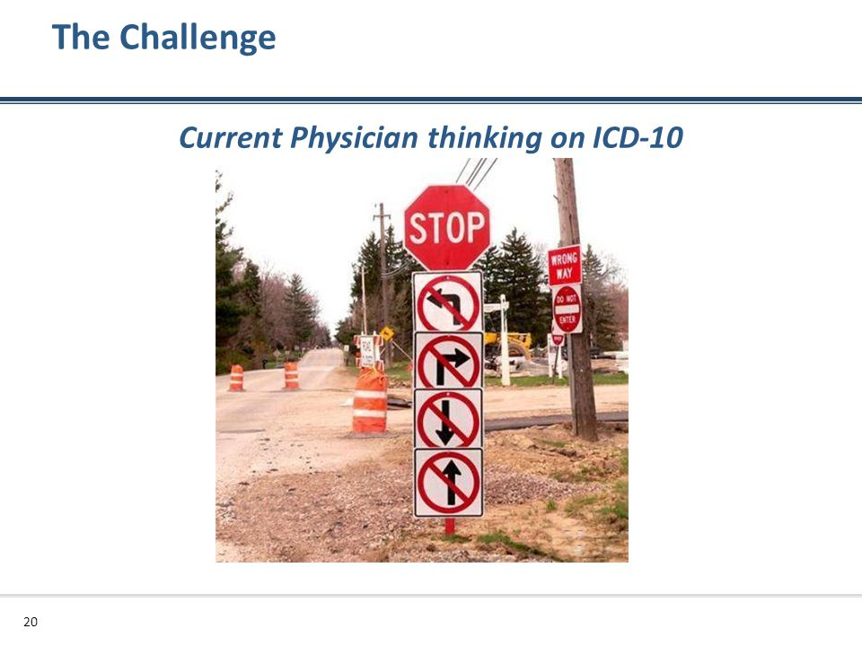 Current Physician thinking on ICD-10