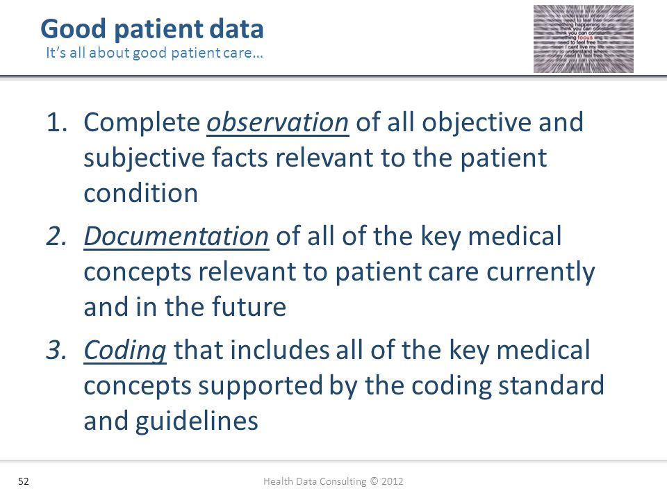 Health Data Consulting © 2012