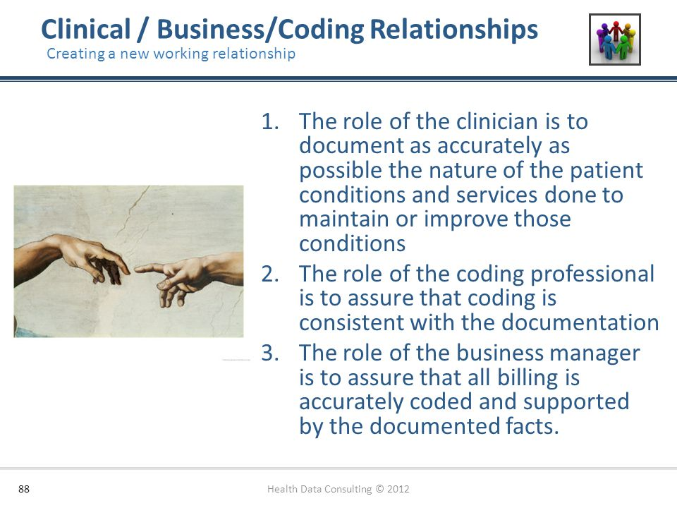 Clinical / Business/Coding Relationships