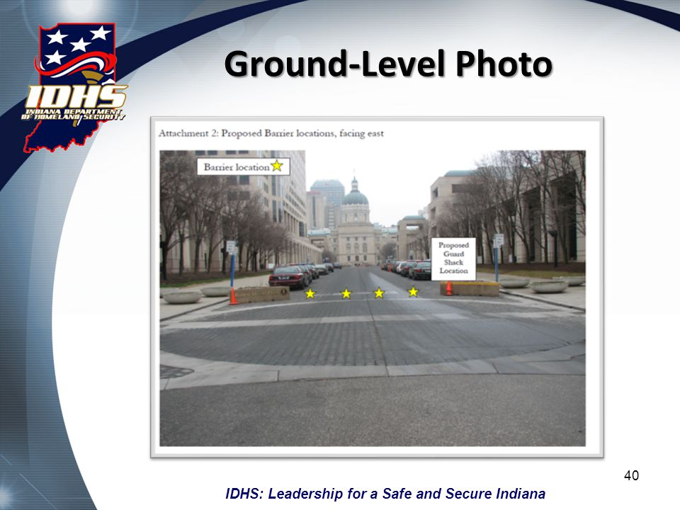 Ground-Level Photo Ground-level photographs should show the installation location and context. Copy the image and past it into Microsoft Paint.