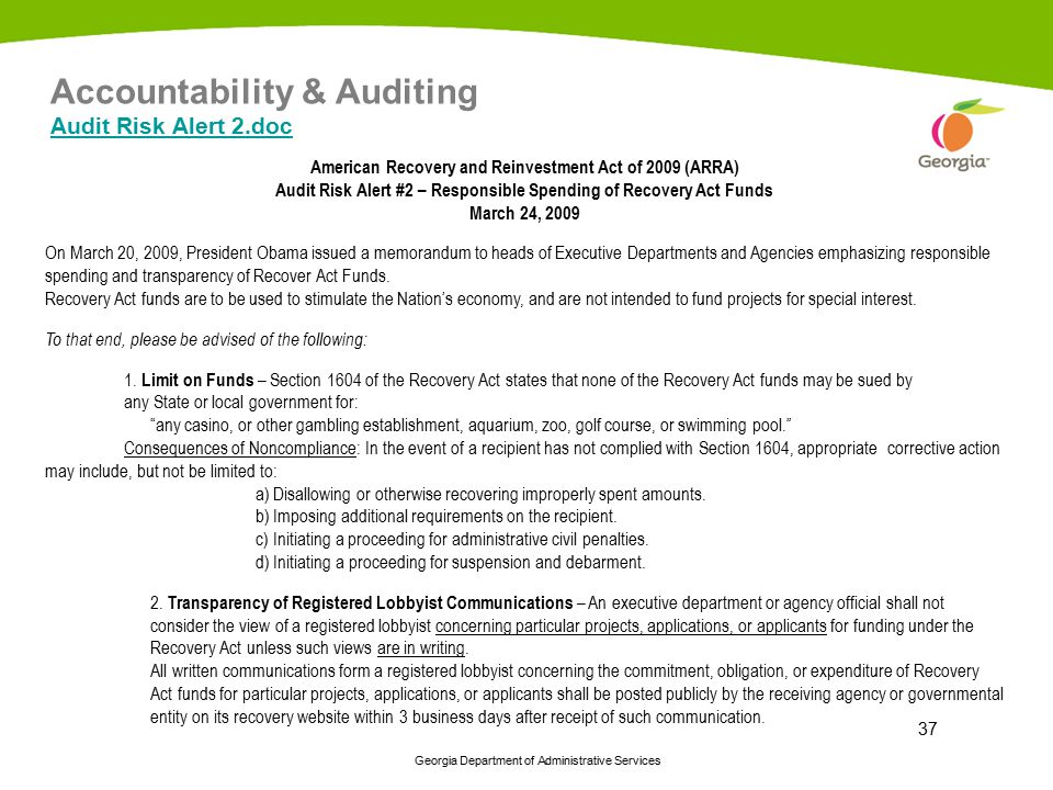 Accountability & Auditing