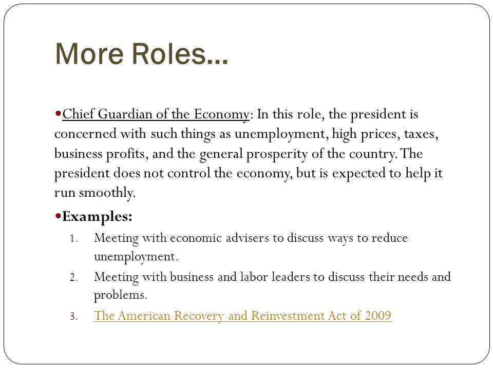 More Roles…
