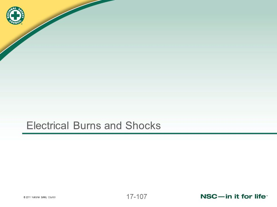 Electrical Burns and Shocks