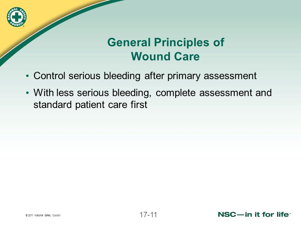 General Principles of Wound Care