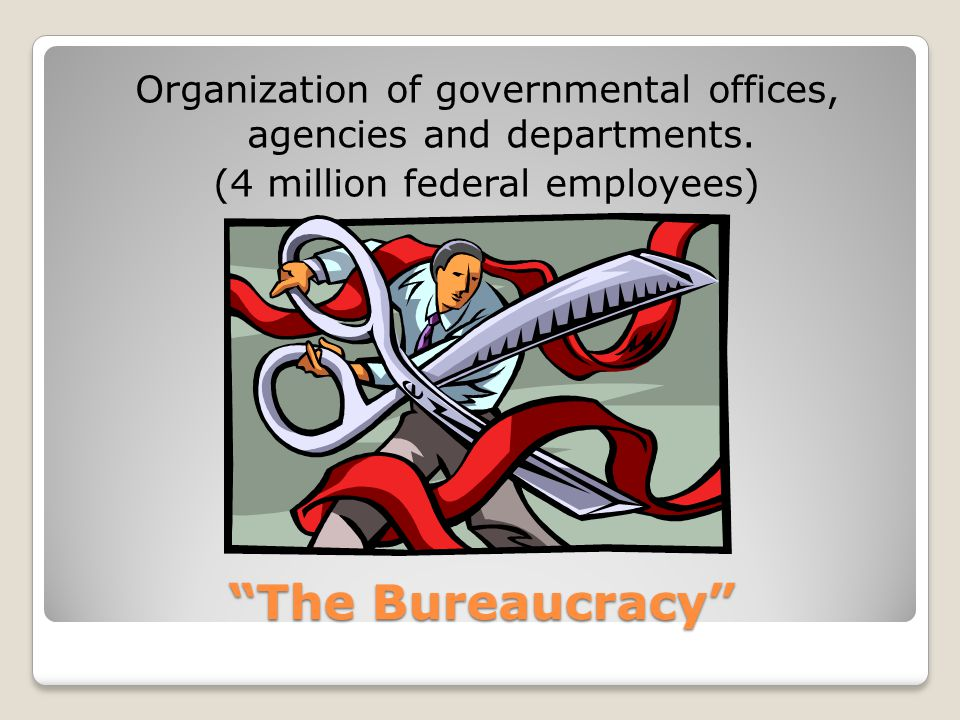 Organization of governmental offices, agencies and departments