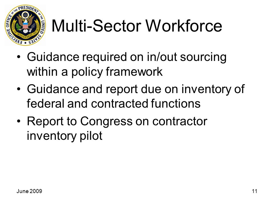 Multi-Sector Workforce