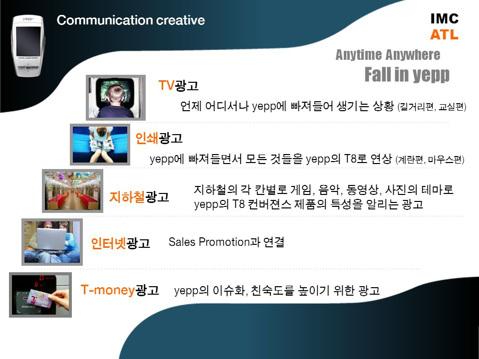 Communication creative IMCATL