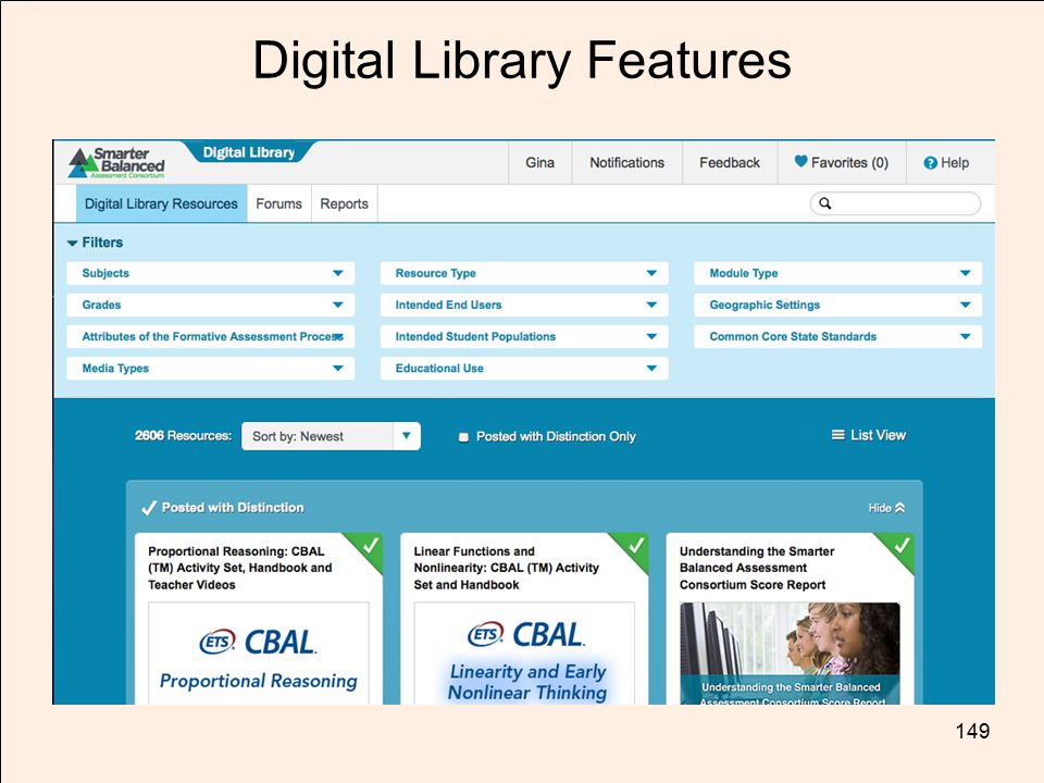 Digital Library Features