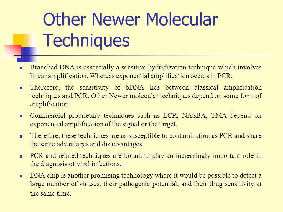 Other Newer Molecular Techniques