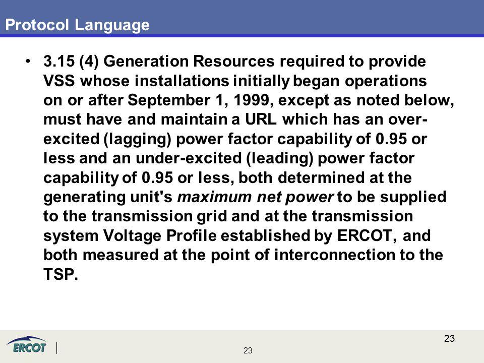 Protocol Language