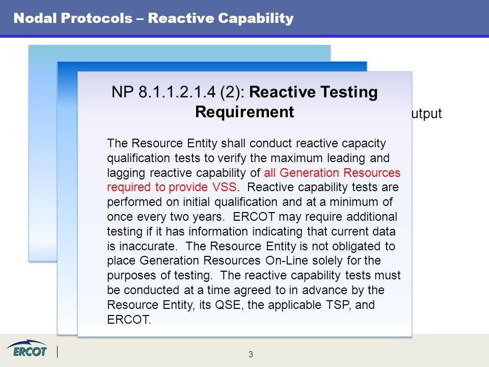 Nodal Protocols – Reactive Capability