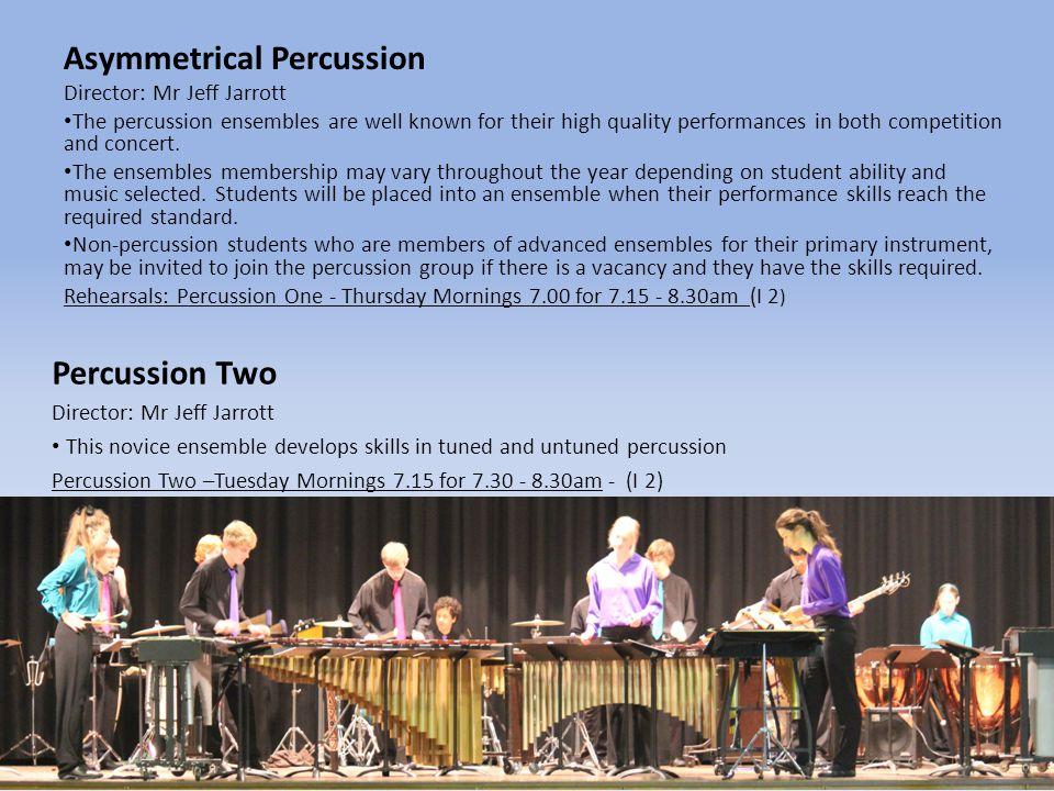 Asymmetrical Percussion