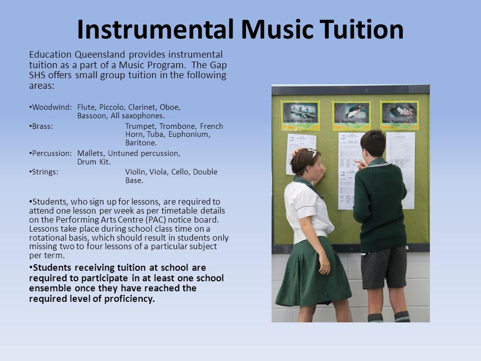 Instrumental Music Tuition