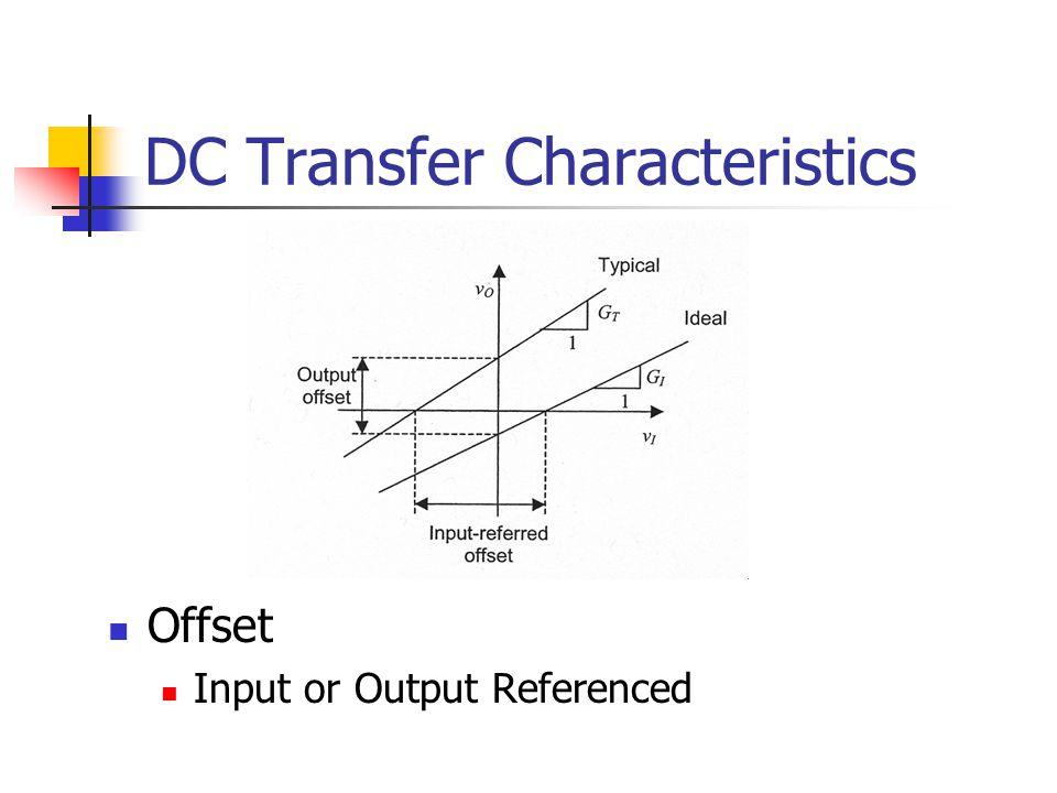 DC Transfer Characteristics