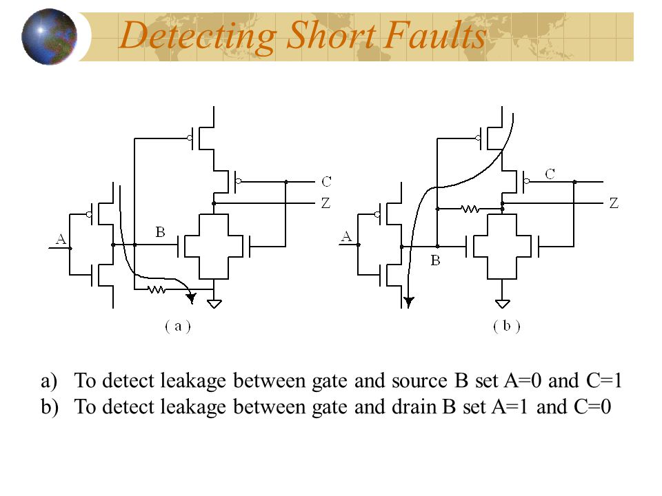 Detecting Short Faults