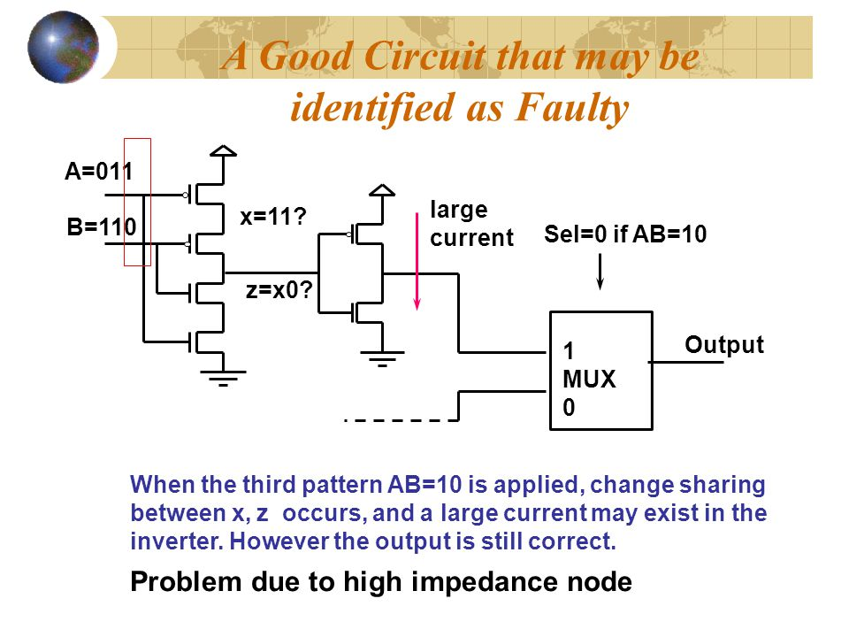 A Good Circuit that may be Problem due to high impedance node