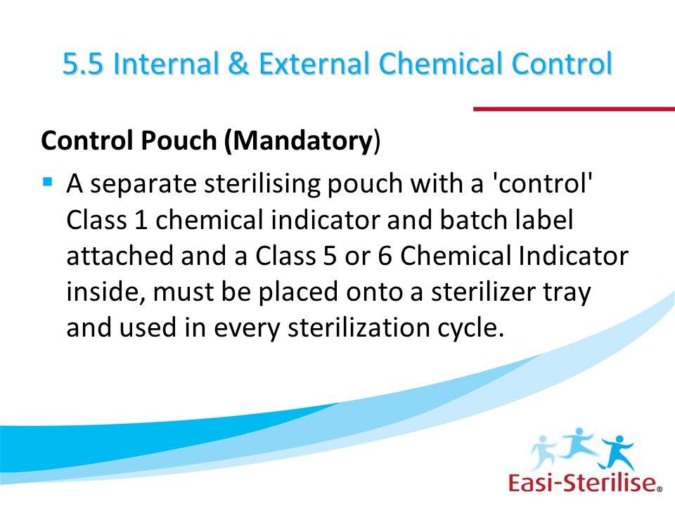 5.5 Internal & External Chemical Control