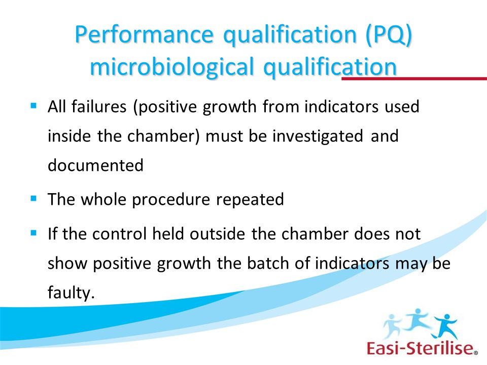 Performance qualification (PQ) microbiological qualification