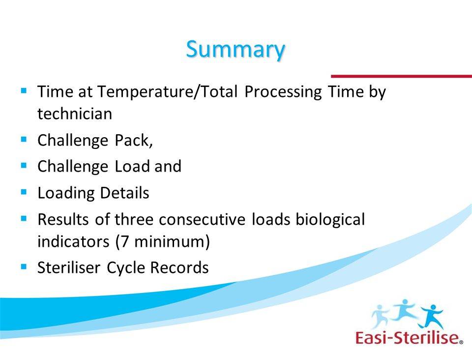 Summary Time at Temperature/Total Processing Time by technician