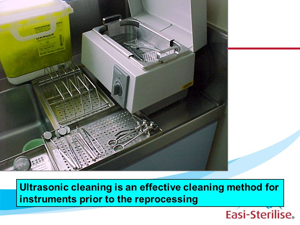 Effective cleaning of instruments prior to the reprocessing is a vital pre-requisite to effective sterilisation.