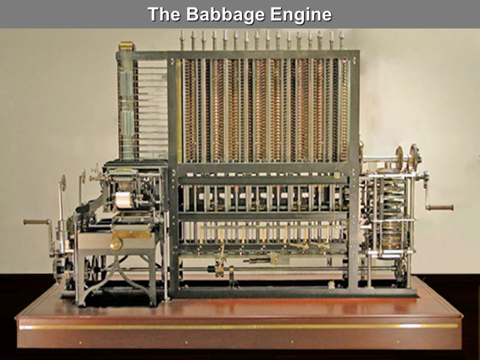 The Babbage Engine