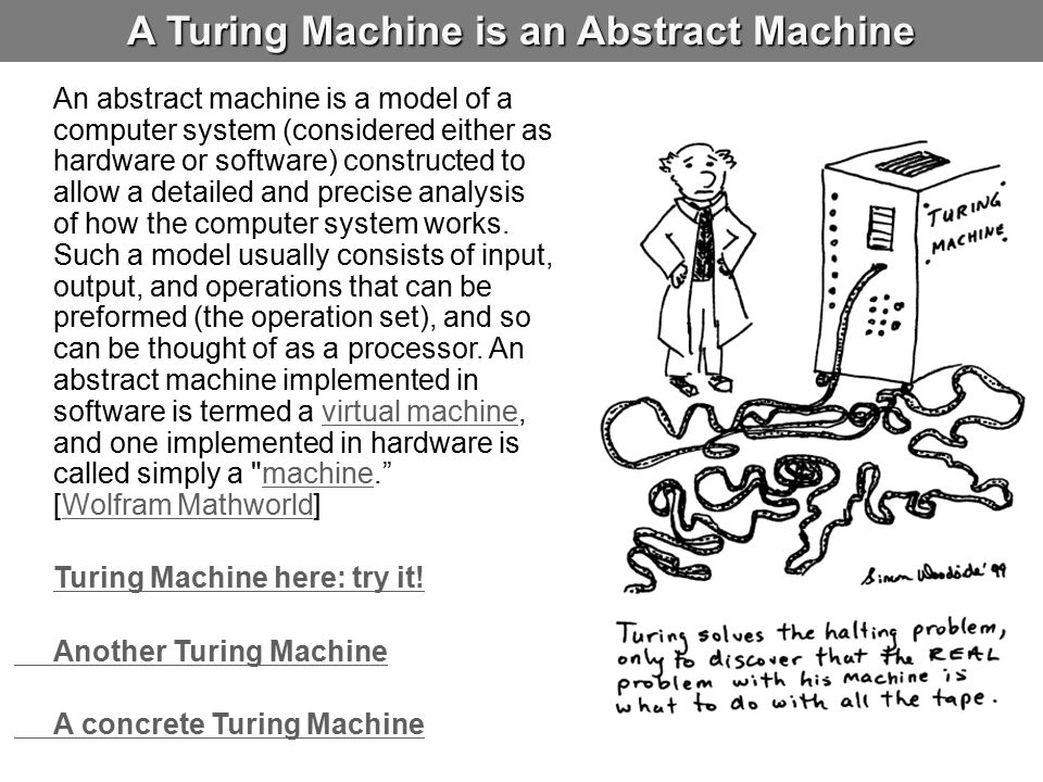 A Turing Machine is an Abstract Machine