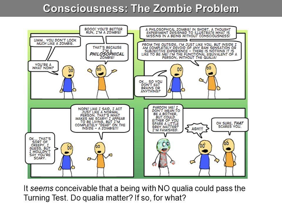 Consciousness: The Zombie Problem