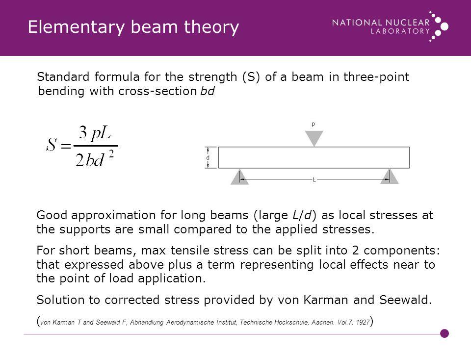 Elementary beam theory