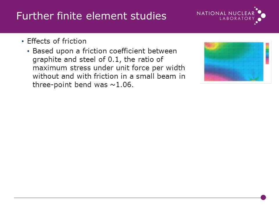 Further finite element studies
