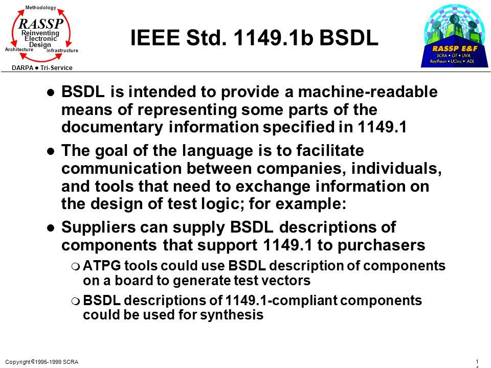 IEEE Std. 1149.1b BSDL