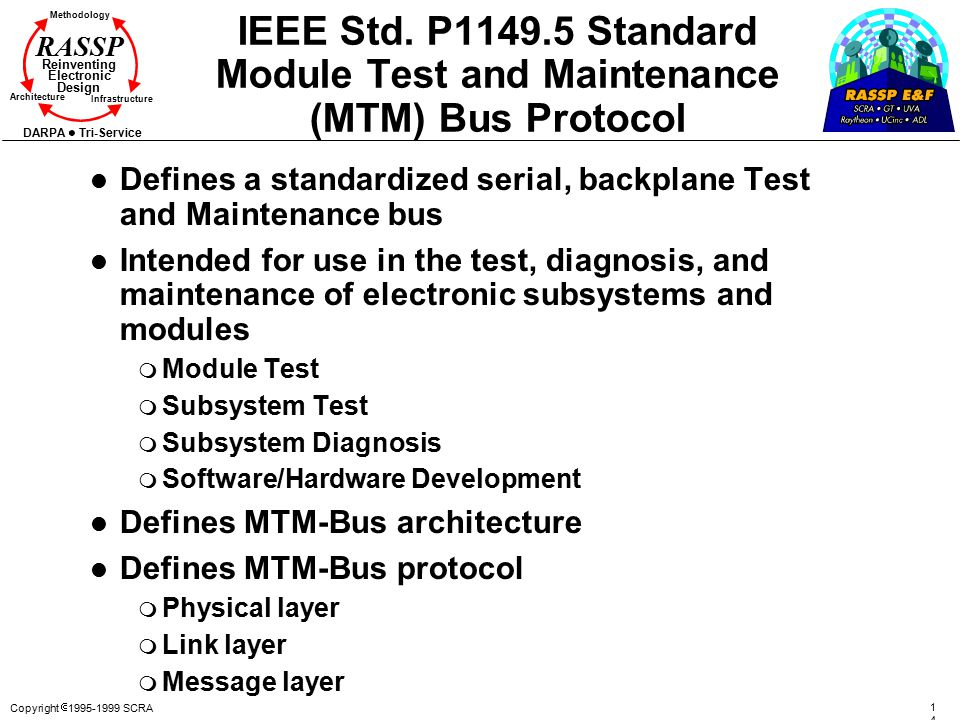 IEEE Std. P1149.5 Standard Module Test and Maintenance (MTM) Bus Protocol