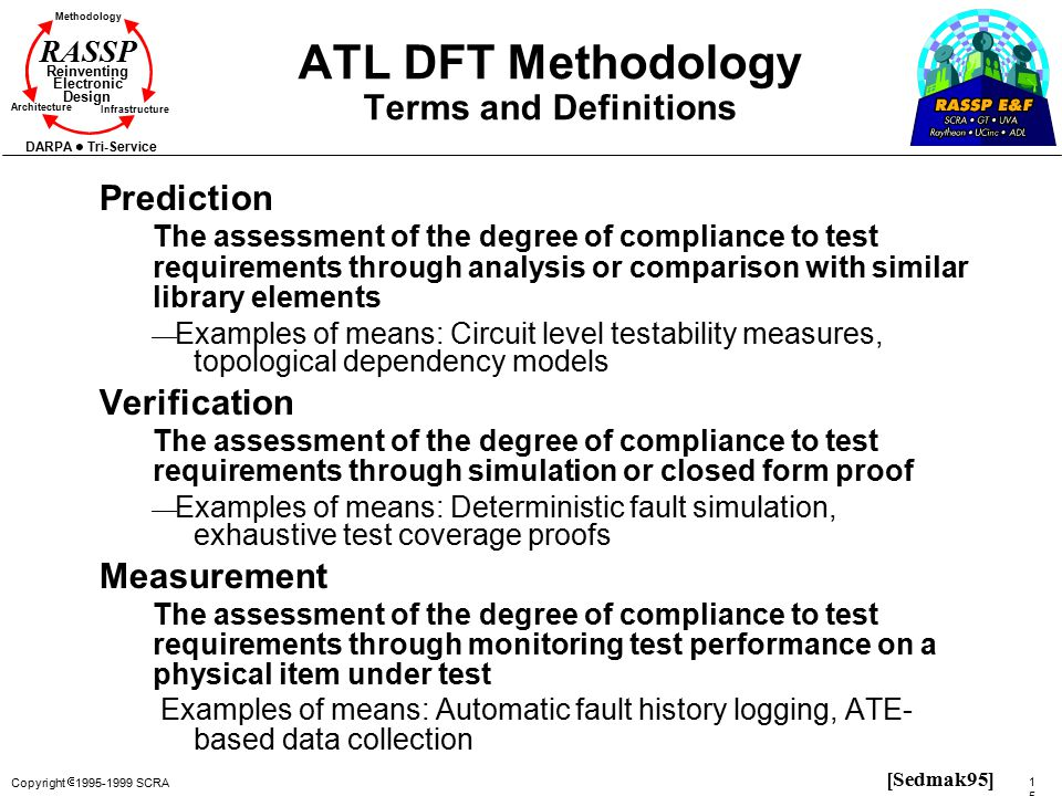 ATL DFT Methodology Terms and Definitions