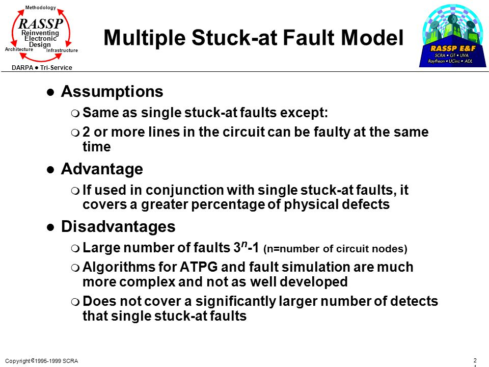 Multiple Stuck-at Fault Model