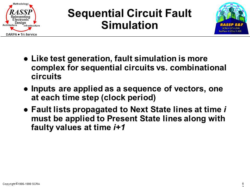 Sequential Circuit Fault Simulation