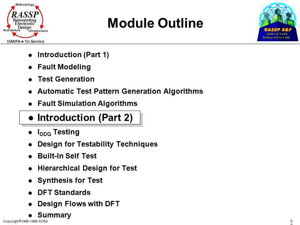 Module Outline Introduction (Part 2) Introduction (Part 1)