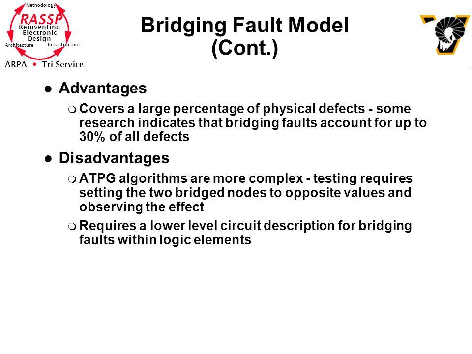 Bridging Fault Model (Cont.)