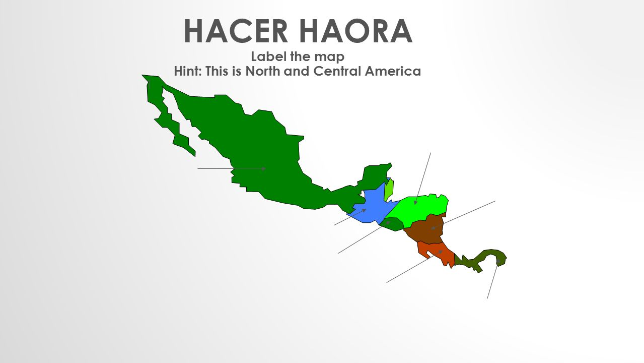 Hint: This is North and Central America