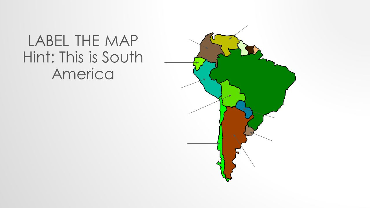 Hint: This is South America