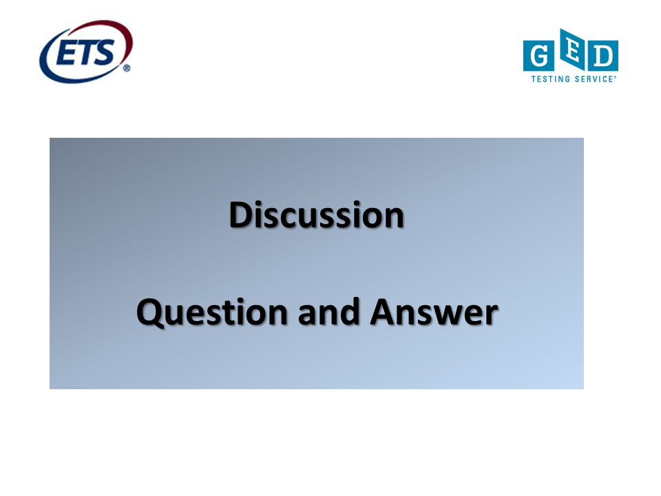 Discussion Question and Answer