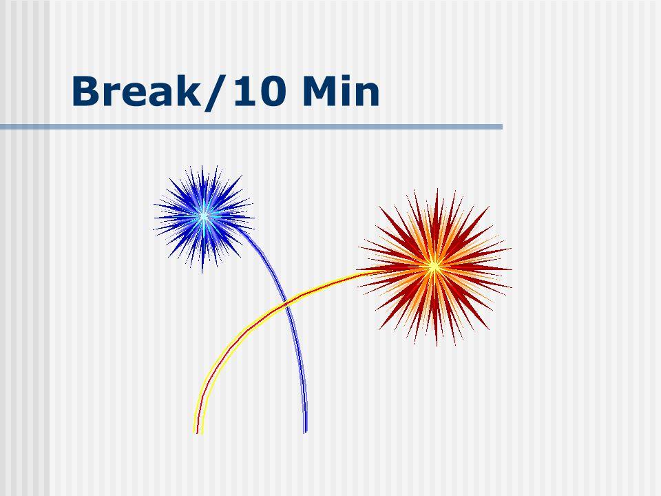 Break/10 Min