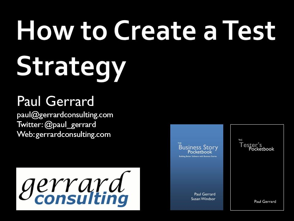 How to Create a Test Strategy