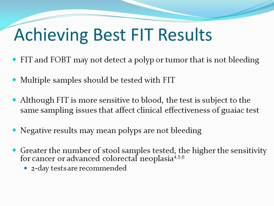 Achieving Best FIT Results