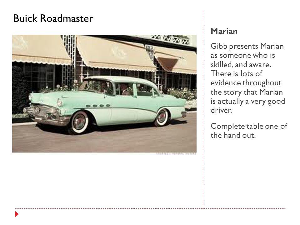 Buick Roadmaster Marian