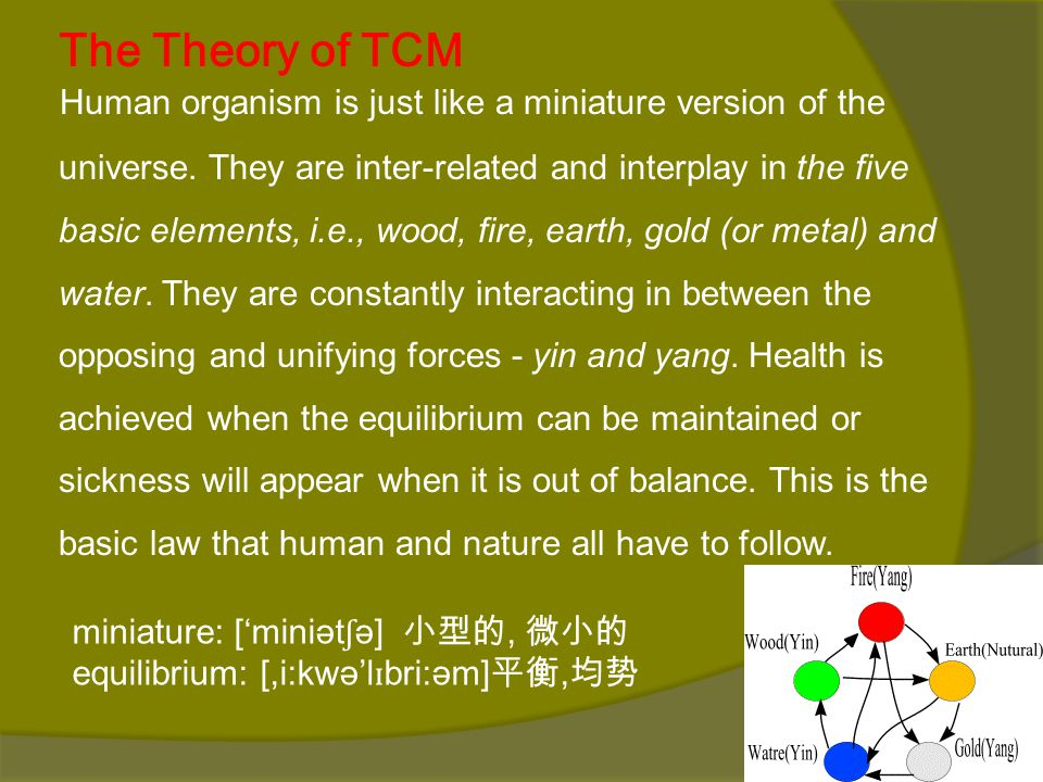 The Theory of TCM