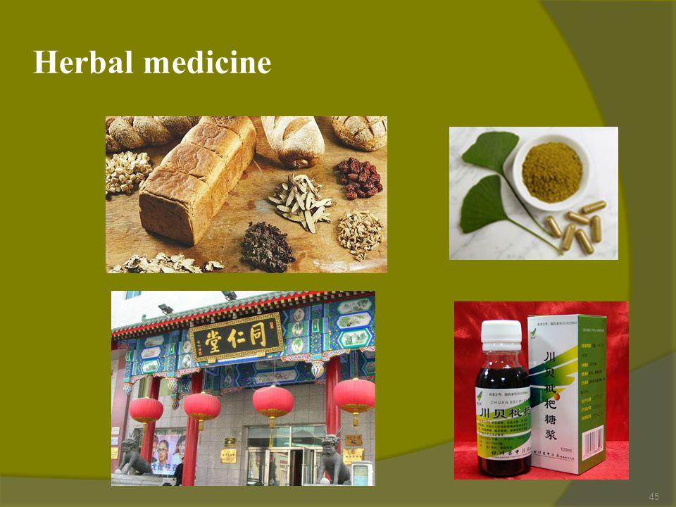 Herbal medicine 45