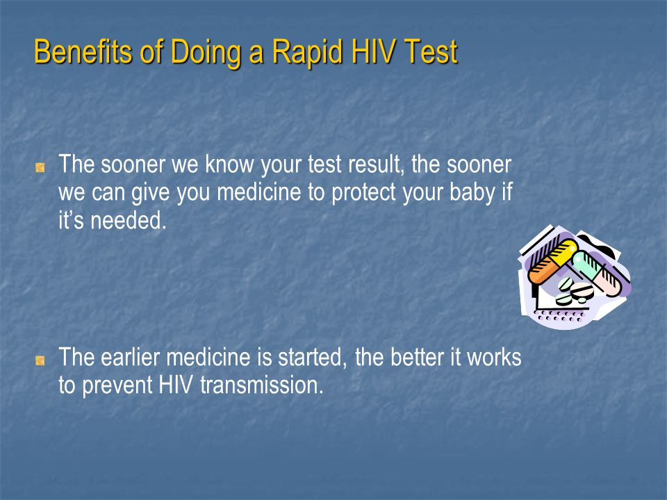 Benefits of Doing a Rapid HIV Test
