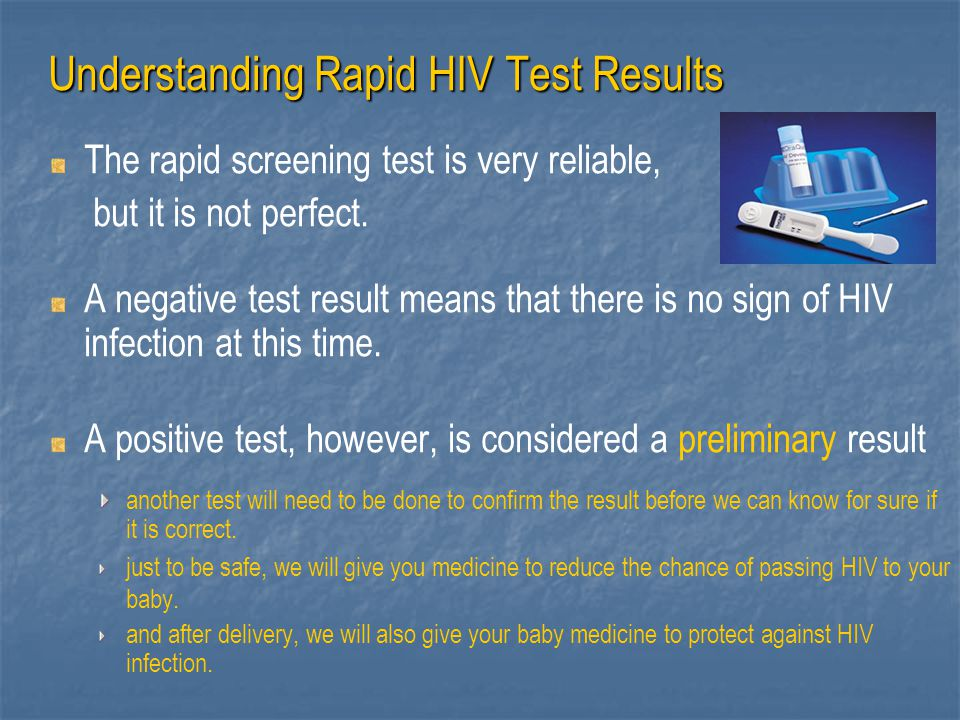 Understanding Rapid HIV Test Results