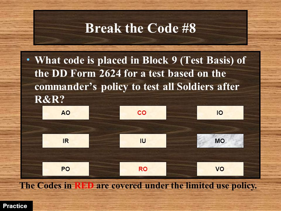 Break the Code #8